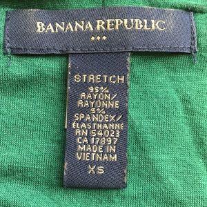 Banana Republic Factory Tops - Banana republic unique green dressy top